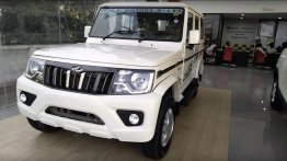 2020 Mahindra Bolero BS6 (facelift) detailed in a walkaround video