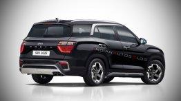 7-seat Hyundai Creta (2021 launch) - IAB Rendering [Update]