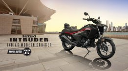 Suzuki Intruder BS6 launched, priced at INR 1.20 lakh