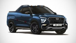 2021 Hyundai Creta Pickup (production Hyundai Creta STC) - IAB Rendering [Update]
