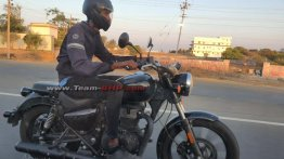 Royal Enfield Meteor spied yet again ahead of launch this year