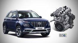 नई Hyundai Venue बीएस6 1.5 डीजल इंजन के साथ लॉन्च, प्राइस 8.10 लाख