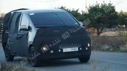 2021 Hyundai H-1 (2021 Hyundai Starex) spied for the first time