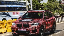 BMW X3 M spied in India for the first time