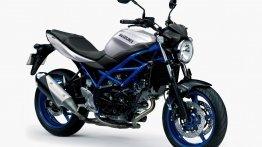 Possibly India-bound Suzuki SV650 ABS gets three new colour scheme