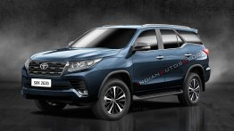 New Toyota Fortuner (facelift) - IAB Rendering