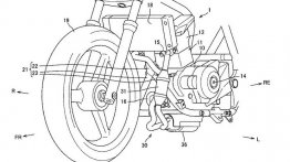 Suzuki's updated 250 cc parallel-twin engine leaked via patent images