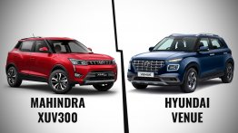Mahindra XUV300 vs. Hyundai Venue - India's most feature-packed sub-4 metre SUVs compared