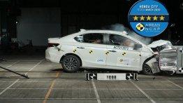 आसियान NCAP टेस्ट में 2020 Honda City को 5-स्टार सेफ्टी रेटिंग