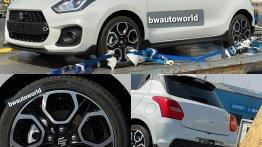 First-ever Mk3 Suzuki Swift Sport lands in India