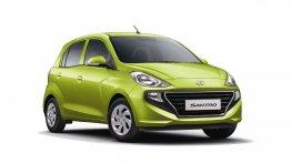 Hyundai ने लॉन्च की बीएस6 Santro CNG, प्राइस ₹62,000 बढ़ी