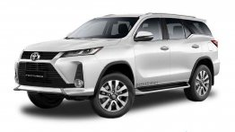This Toyota Harrier-inspired new Toyota Fortuner (facelift) is close to the real deal
