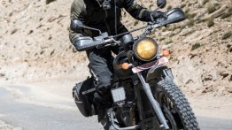 Modified Jawa Forty Two looks ready for adventure touring