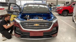 MG Hector (Chevrolet Captiva) front end installed on Chevrolet Colorado [Video]
