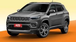 New Jeep Compass facelift fresh details emerge from Brazil - Report