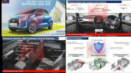 2020 Datsun redi-GO facelift interior and exterior leaked