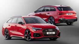 This Audi RS 3 Avant is a compact wagon on steroids - IAB Rendering