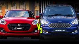 Ford Figo vs. Maruti Swift - India's cheapest B-segment hatchbacks compared