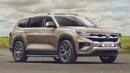 VW Amarok SUV (Toyota Fortuner rival) imagined - IAB Rendering