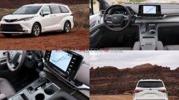 Toyota की Sienna एमपीवी से हटा पर्दा, Kia Carnival से मुकाबला