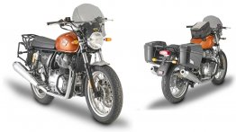 Kappa launches Royal Enfield Interceptor 650 touring accessories - IAB Report