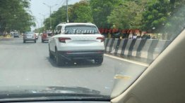 Skoda Karoq snapped on its way to dealer, to be launched on 26 May