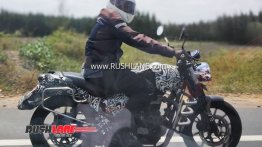 Mysterious Royal Enfield bike spotted again, is it the Roadster?