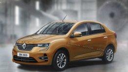 Renault LBA सेडान की डिजाइन, Maruti DZire से मुकाबला