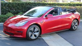 This Tesla Model 3 Convertible makes the $34k EV a whole lot more enticing