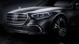 Next-gen 2021 Mercedes S-Class teased, front end officially revealed