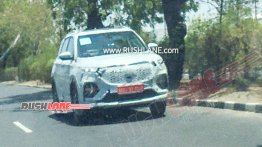 MG Hector Plus spied just weeks ahead of launch next month