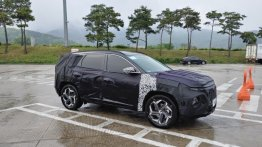 Top-end 2021 Hyundai Tucson with all-LED lighting & two-tone wheels spied