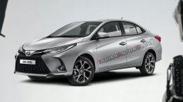 2021 Toyota Yaris sedan imagined - IAB Rendering