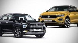 2020 Hyundai Creta के वे 10 फीचर्स, जो Volkswagen T-Roc में नहीं हैं
