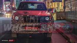 Next-gen Mahindra Scorpio spied up close - Report