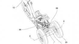 Piaggio files patents for new leaning three-wheeler - Report