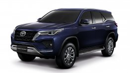 2021 Toyota Fortuner facelift revealed, comes in two design variants - IAB Report