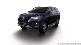 Toyota Fortuner Facelift Varaints and Color Options Leaked Ahead of Launch