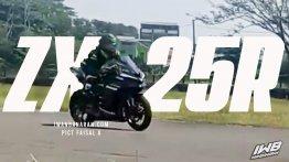 Kawasaki Ninja ZX-25R spotted on test on a race track - Report