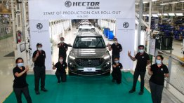 MG Hector Plus production begins ahead of launch next month - IAB Report