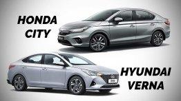 2020 Honda City vs. 2020 Hyundai Verna: Specs Compared
