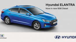 2020 Hyundai Elantra BS6 Diesel launched, prices start at INR 18.70 lakh - IAB Report