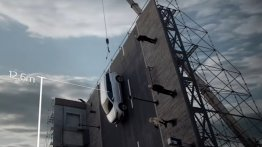 Kia Carnival performs well in vertical crash test (Video)