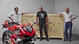First unit of limited-edition Ducati Superleggera V4 delivered