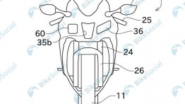 Patent images reveal possibly new Kawasaki Ninja ZX-10R with adaptive cruise control