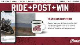 Indian Motorcycle announces a unique Test Ride competition