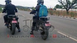 Two BS6 BMW G 310 GS prototypes spied testing in India - IAB Report