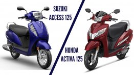 Suzuki Access 125 vs. Honda Activa 125 : The best of 125cc scooters compared