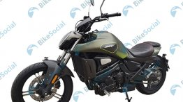 QJ SRV 500 (Benelli 502C lookalike) revealed via a leaked image