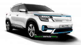 Upcoming Kia Seltos EV Looks Production-Ready In This Life-Like Render